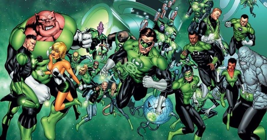 Geoff Johns Green Lantern Sinestro HBO Max DC Comics