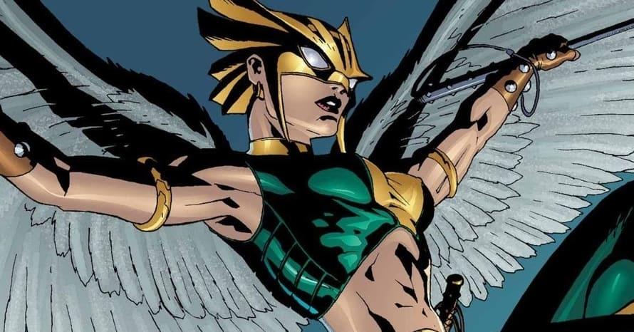 Hawkgirl DC Comics Dwayne Johnson Black Adam