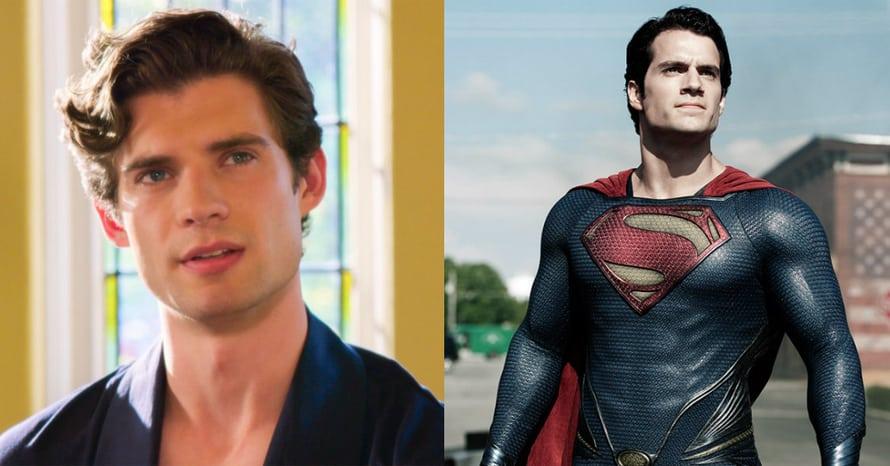 Henry Cavill David Corenswet Superman