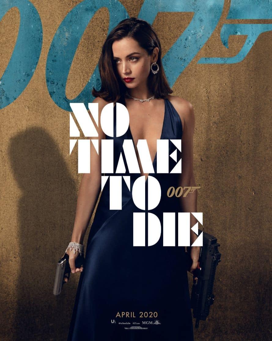 James Bond Daniel Craig No Time to Die Poster Ana de Armas