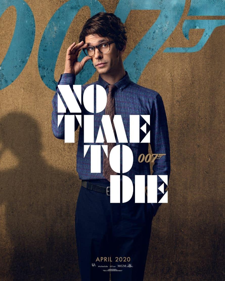 James Bond Daniel Craig No Time to Die Poster Ben Whishaw Q