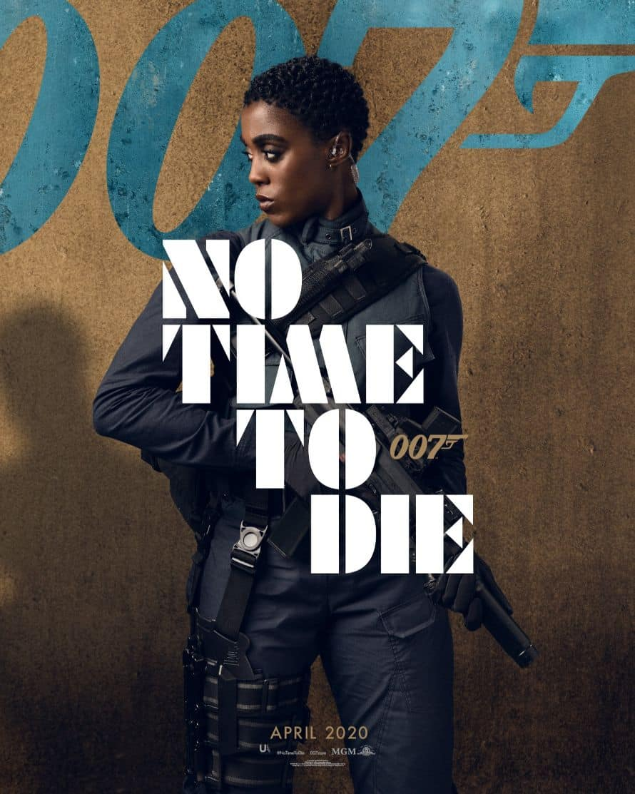 James Bond Daniel Craig No Time to Die Poster Lashana Lynch
