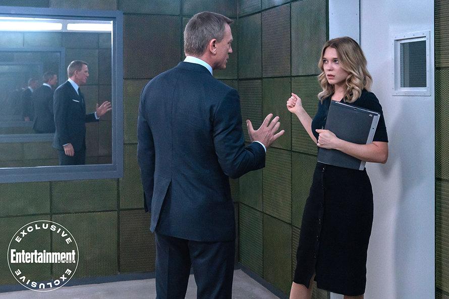 James Bond Daniel Craig No Time to Die Poster Lea Seydoux Madeleine Swan