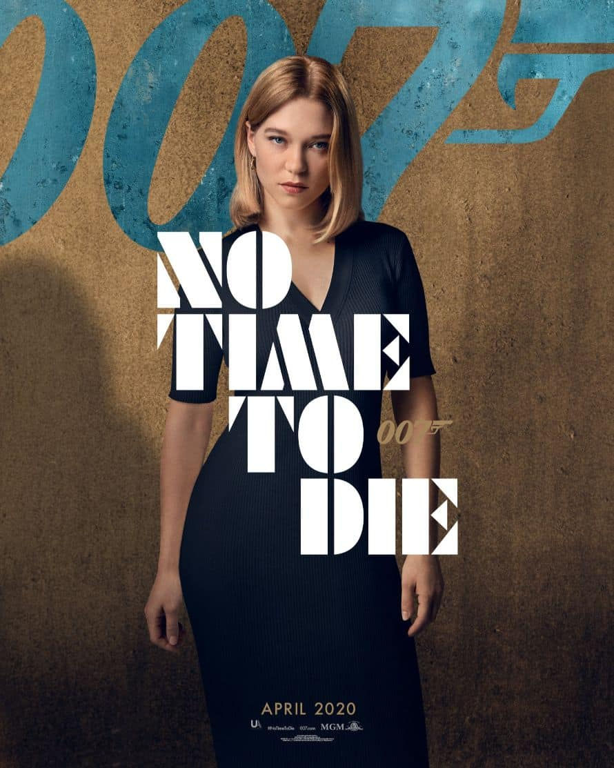 James Bond Daniel Craig No Time to Die Poster Lea Seydoux