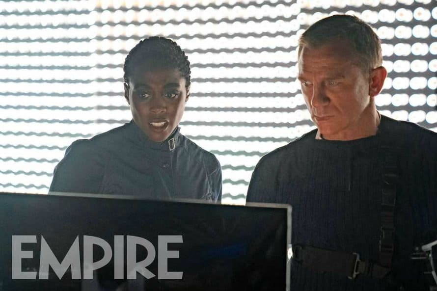 James Bond Rami Malek Daniel Craig No Time To Die