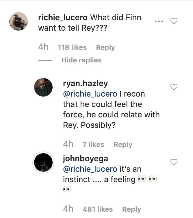 John Boyega Star Wars The Rise of Skywalker Finn