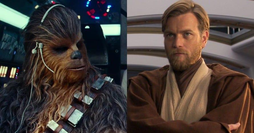 Joonas Suotamo Chewbacca Obi-Wan Star Wars