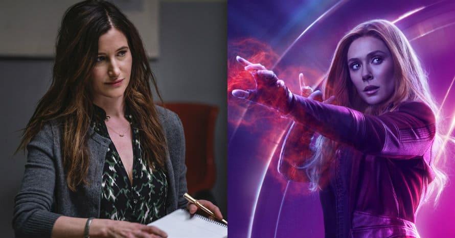 Kathryn Hahn Elizabeth Olsen Wanda Vision Scarlett Witch