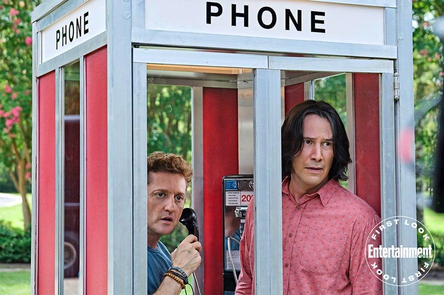 Keanu Reeves Alex Winter Bill e Ted