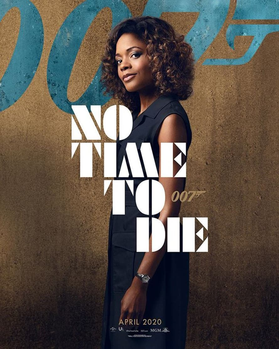 Naomie Harris Eve Moneypenny James Bond Daniel Craig No Time to Die Poster