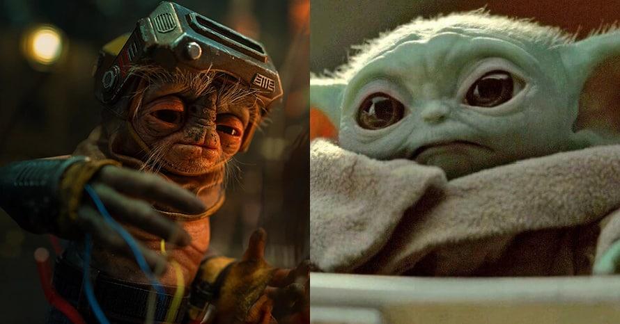 Star Wars Babu Frik Baby Yoda