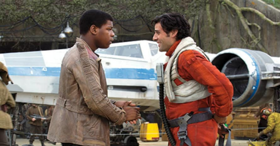 Star Wars John Boyega Pens Hilarious Message To Oscar Isaac