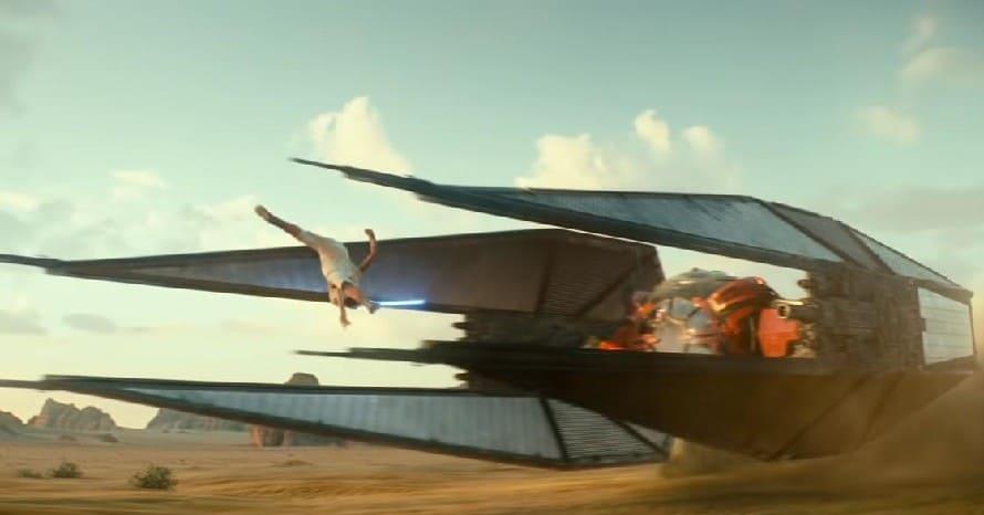 Star Wars The Rise Of Skywalker TIE Whisper Richard E. Grant Chris Terrio