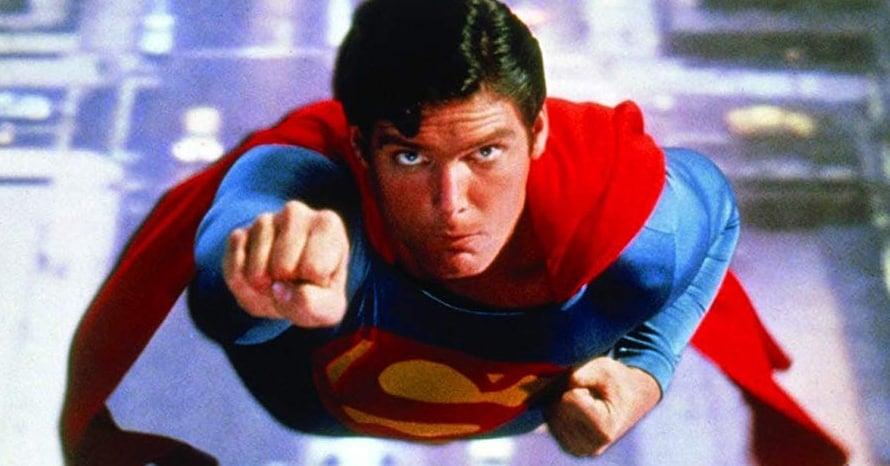 Superman Christopher Reeve Crisis On Infinite Earths Richard Donner Drew Struzan