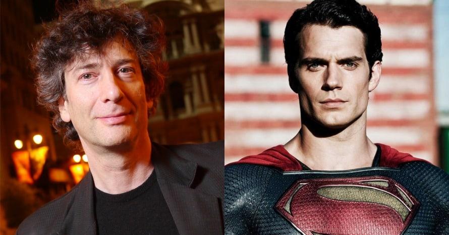 Superman Neil Gaiman Warner Bros