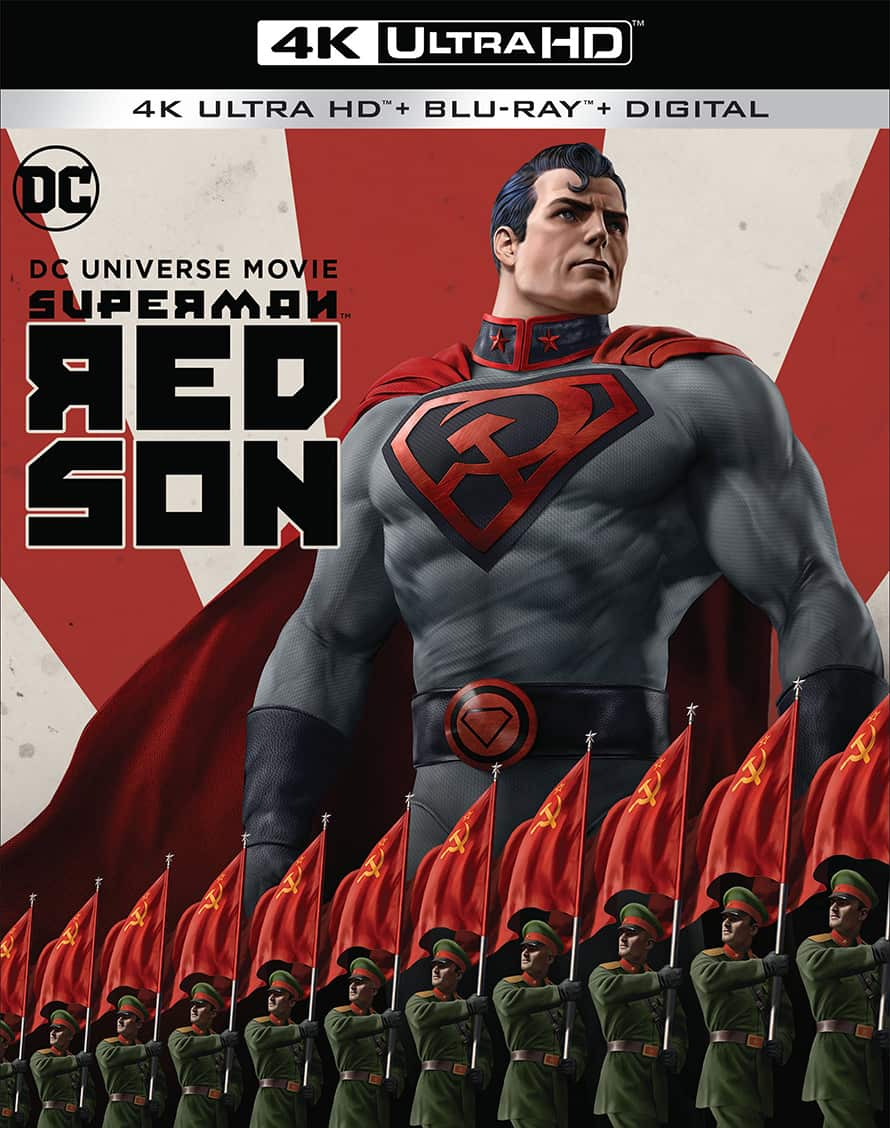 Superman Red Son Justice League Dark