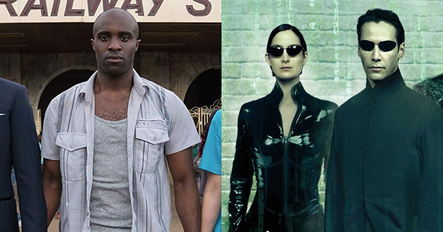 Toby Onwumere Keanu Reeves The Matrix 4