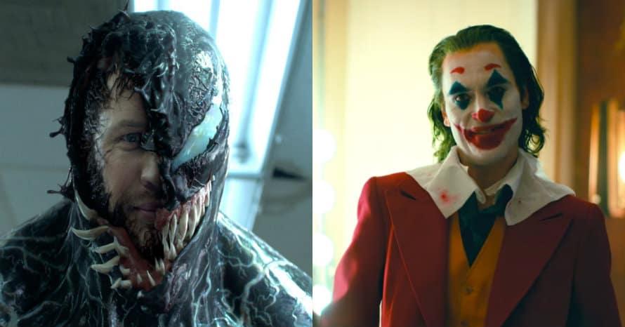 Tom Hardy Venom Joaquin Phoenix Joker