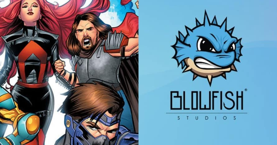 Valiant Entertainment Blowfish Studios