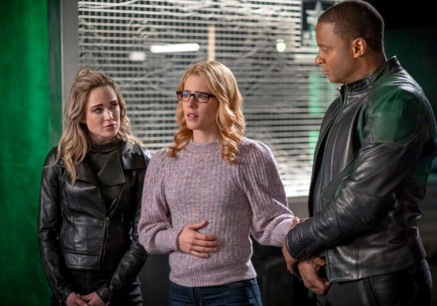 Arrow Stephen Amell Fadeout Felicity White Canary Diggle