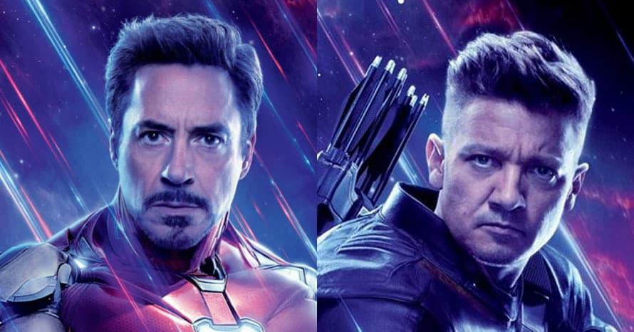 Avengers Robert Downey Jr. Jeremy Renner