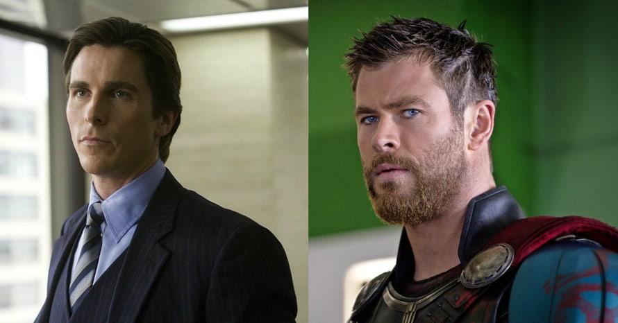 Christian Bale Jason Aaron Thor Tessa Thompson Love and Thunder