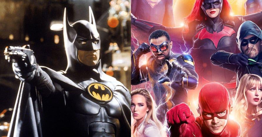 Crisis On Infinite Earths Batman TIm Burton