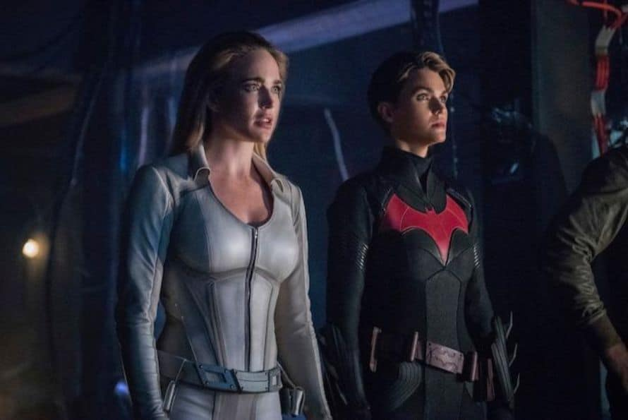 Crisis On Infinite Earths Part 4 Batwoman White Canary