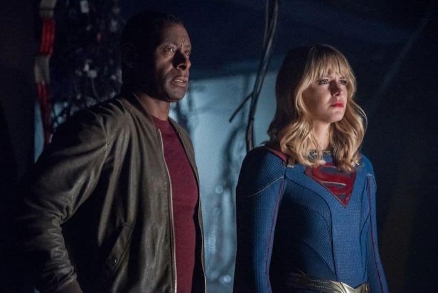 Crisis On Infinite Earths Part 4 Melissa Benoist Supergirl Martian Manhunter