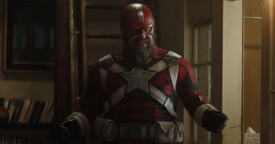 David Harbour Black Widow Scarlett Johansson Red Guardian Captain America