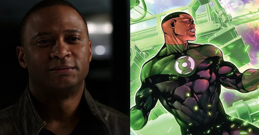 David Ramsey John Diggle Green Lantern Arrow Grant Gustin The Flash Arrow