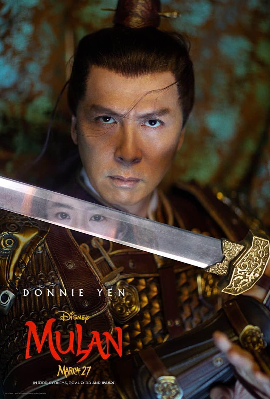 Disney Mulan Poster Donnie Yen