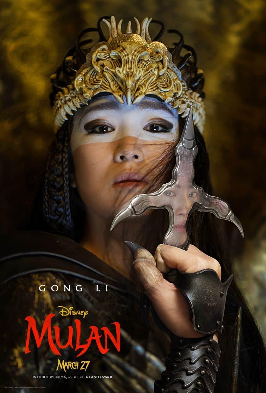 Disney Mulan Poster Gong Li