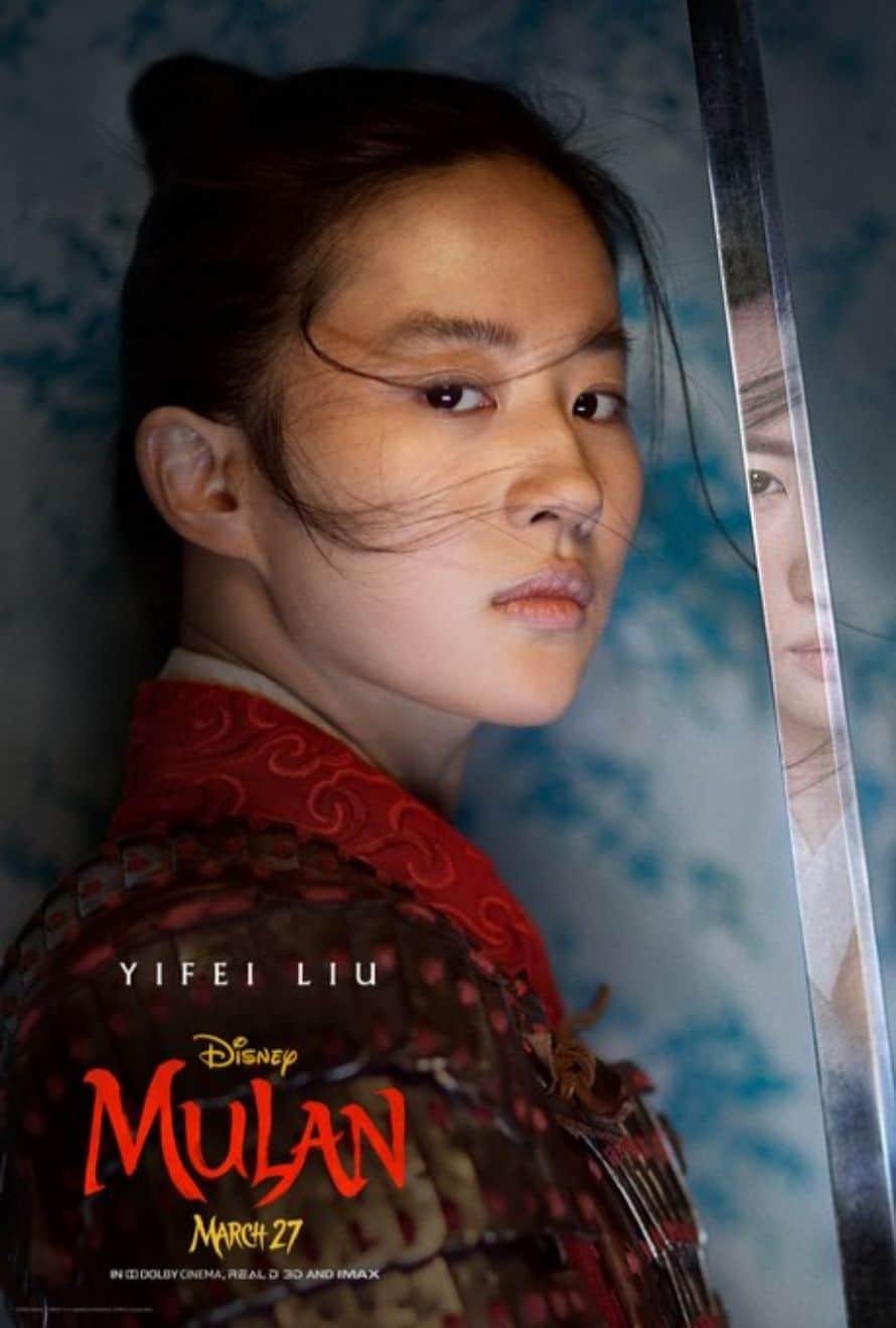 Disney Mulan Poster Yifei Lu.jfif