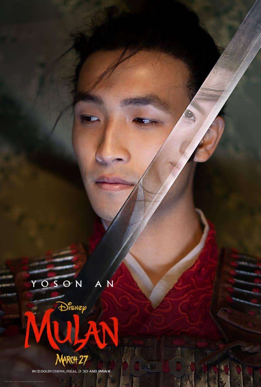 Disney Mulan Poster Yoson An