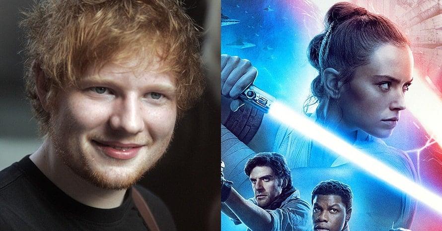 Ed Sheeran Star Wars The Rise of Skywalker