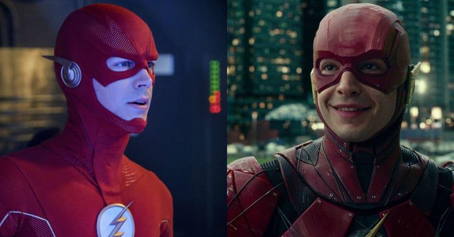 Ezra Miller The Flash Grant Gustin Crisis On Infinite Earths Arrowverse Jim Lee