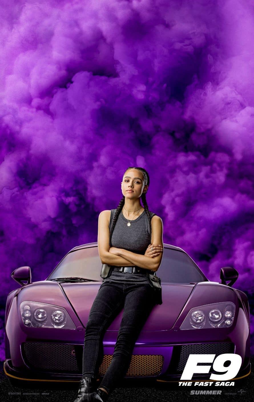 Fast and Furious Vin Diesel Nathalie Emmanuel