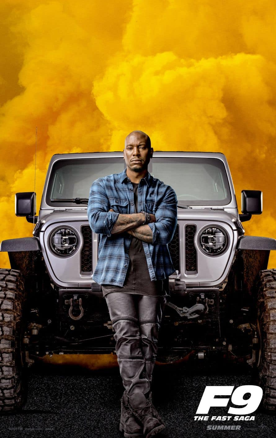 Fast and Furious Vin Diesel Tyrese Gibson