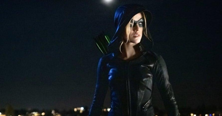 Green Arrow The Canaries The CW Arrowverse Banner Katherine McNamara