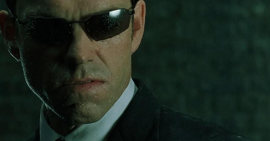 Hugo Weaving Keanu Reeves The Matrix 4