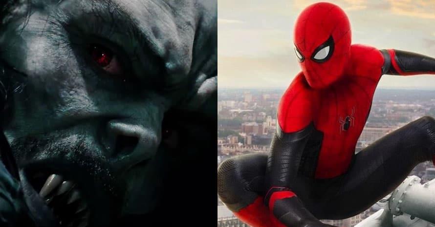 Jared Leto Morbius Tom Holland Spider-Man Marvel