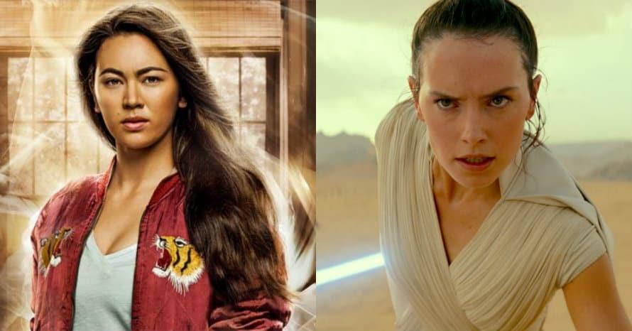 Jessica Henwick Star Wars Rey Daisy Ridley Iron Fist