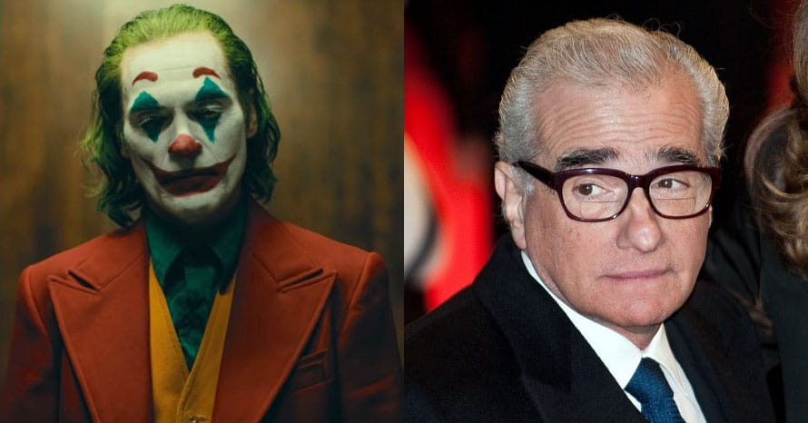 Martin Scorsese Joaquin Phoenix Joker