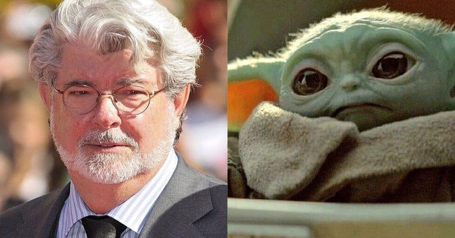Star Wars George Lucas The Mandalorian Baby Yoda
