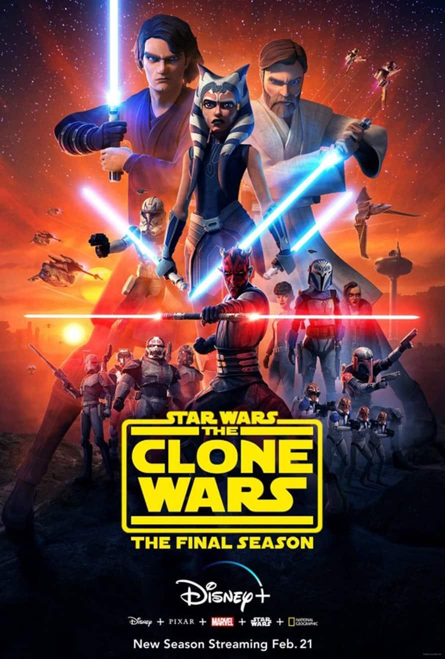 Guerra nas Estrelas The Clone Wars Disney Plus