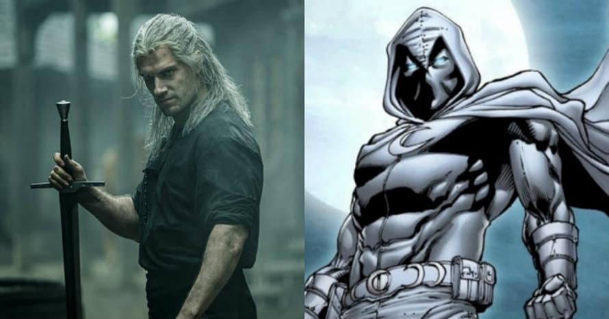 The Witcher Moon Knight Marvel