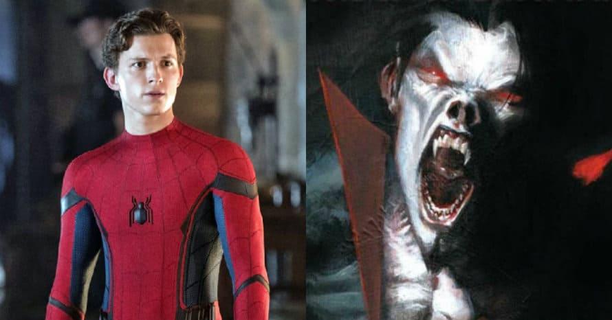 Tom Holland Spider-Man Sony Marvel Jared Leto Morbius MCU