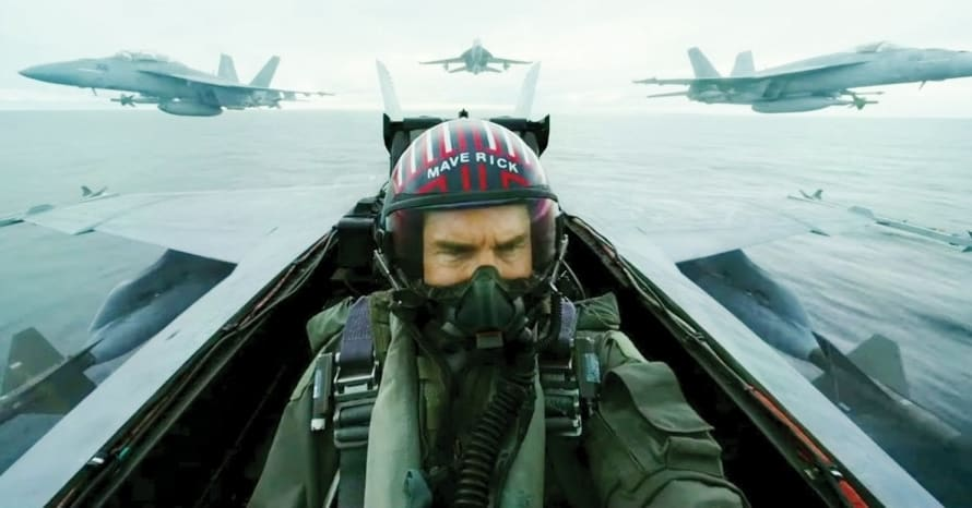 Top Gun Maverick Tom Cruise Paramount Coronavirus SpaceX Mission: Impossible 7 Ghostbusters: Afterlife