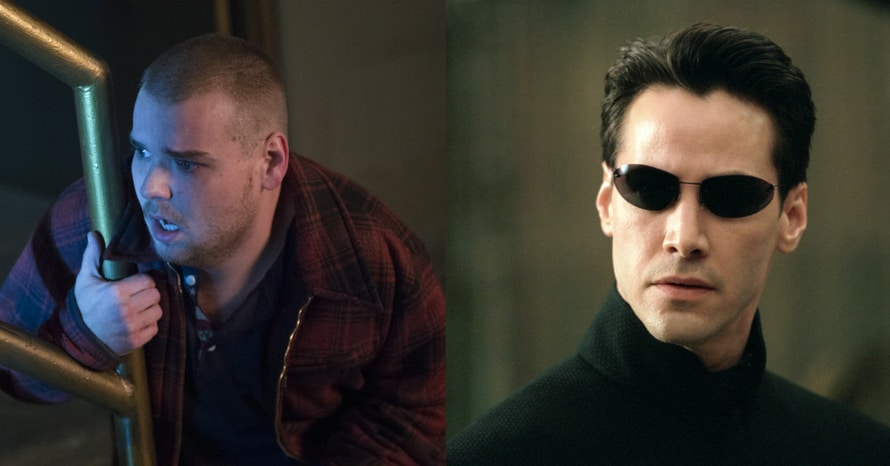 Andrew Caldwell Keanu Reeves The Matrix